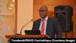 Tussaint Muntazini, Procureur de la Cour Pénale Spéciale en Centrafrique, 6 octobre 2017. (Facebook/PNUD Centrafrique)