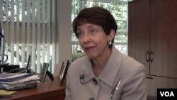 前美國副助理國務卿、加州大學圣迭戈分校國際政策與策略學院21世紀中國中心主席謝淑麗(Susan Shirk)接受美國之音記者莉雅的專訪。
