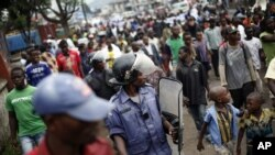 Congo Rebels Pledge Goma Exit