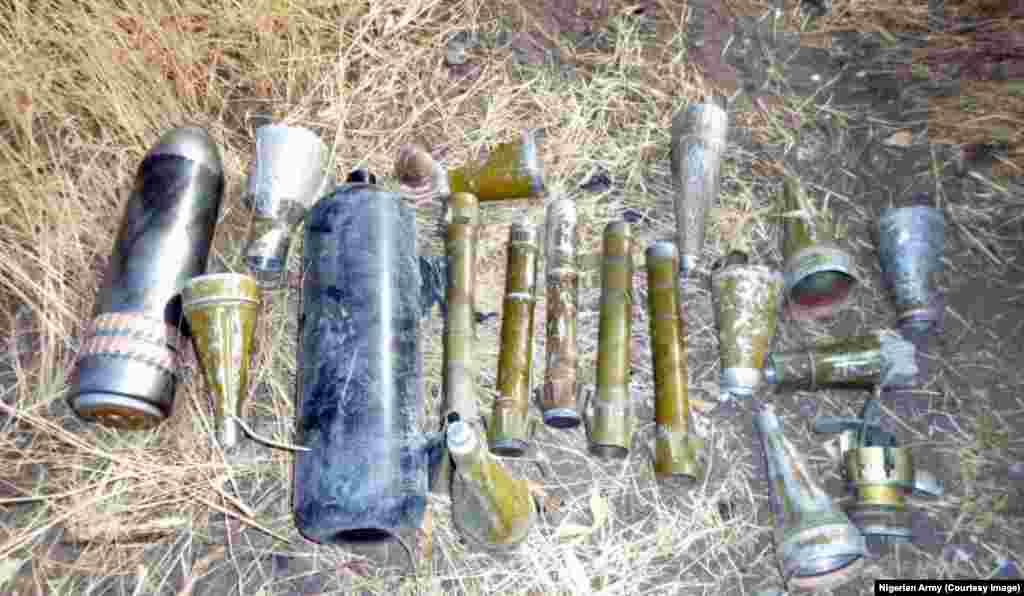 Sojojin shiyya ta 7 dake Maiduguri sun gano inda harhada bam a Kumshe