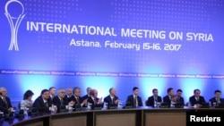 Астана, Казахстан. 16 февраля 2017 г.