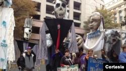 Marcha fúnebre en Richmond