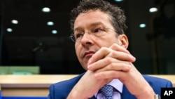 """Bộ trưởng Tài chính Hà Lan Jeroen Dijsselbloem, người đứng đầu nhóm các bộ trưởng tài chính khu vực đồng euro, nói rằng việc trợ giúp thêm cho Hy Lạp 'không phải là chuyện đương nhiên"""""""