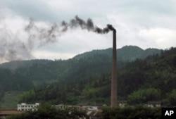 中国污染仍很严重
