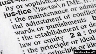 Justice Is Merriam Webster S Word Of The Year