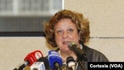 Maria do Valle Ribeiro, vice-representante especial do secretário-geral da ONU para a Guiné-Bissau