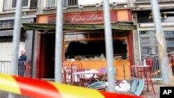 Kafić u Ruanu u kojem je izbio požar