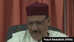 Bazoum Muhammad lokacin Yana like da mukamin Ministan cikin gida a Nijar