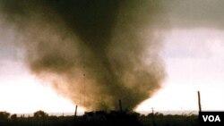 Angin puting beliung atau tornado bisa terjadi secara tiba-tiba dan tanpa peringatan apapun.