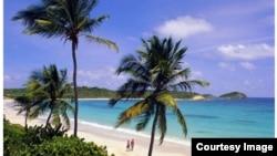 Một góc đảo Phú Quốc (screen shot of Vietravel website)