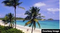 """Đảo Phú Quốc là một trong 3 đặc khu kinh tế được đề xuất có """"phố đèn đỏ."""" (ảnh chụp màn hình của Vietravel)"""