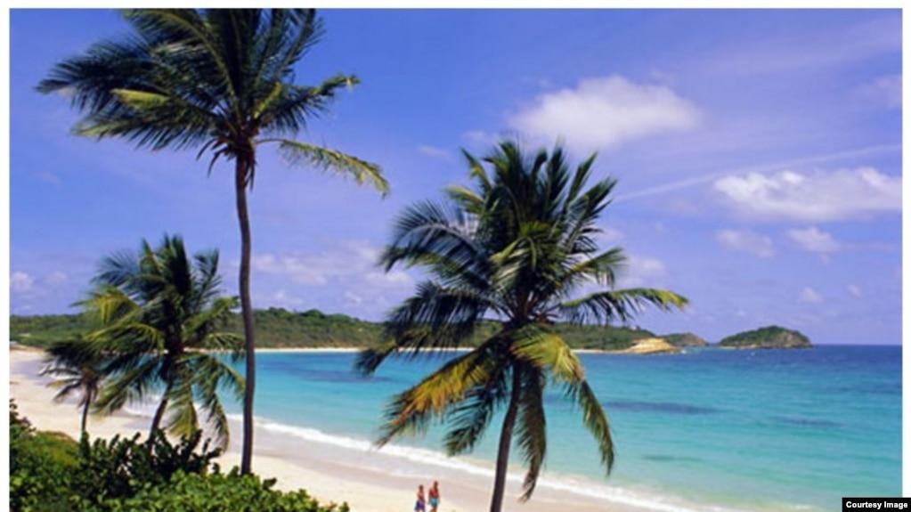 Một bãi biển thuộc Phú Quốc.