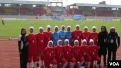 تیم ملی فوتبال بانوان ایران