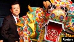 류샤오밍 영국 주재 중국대사 (자료사진)