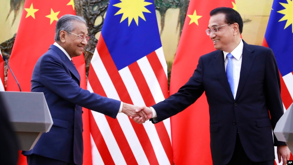 Amid Fiscal Woes, Malaysia PM Calls for China's Understanding