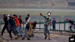 بھارتی کشمیر میں احتجاج