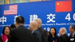 Khách mời tham dự lễ kỷ niệm 40 năm thiết lập quan hệ ngoại giao Mỹ-Trung, tại Bắc Kinh ngày 10/1/2019