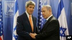 Джон Керри и Биньямин Нетаньяху
