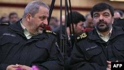İran Emniyet Genel Müdürü ile Yardımcısı