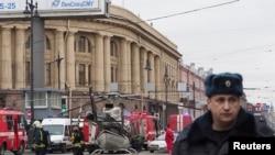 St.Petersburg ေျမေအာက္ဘူတာရံုေပါက္ကဲြမႈ လူ ၉ ဦးထက္မနည္းေသဆံုး