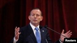 Australian ဝန္ႀကီးခ်ဳပ္ Tony Abbott ။