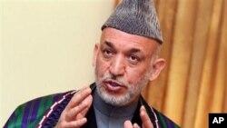 سهرۆکی ئهفغانی حامید کارزای
