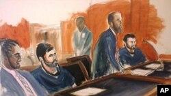Efraín Antonio Campo Flores y Francisco Flores de Freitas, están relacionados por delitos relacionados con narcotráfico.
