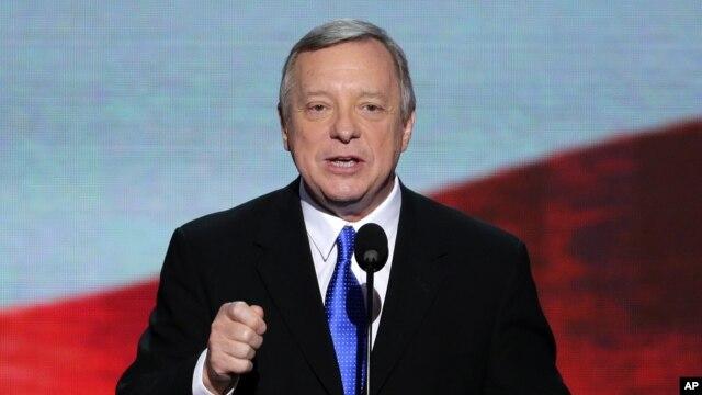 Democratic Senator Richard Durbin (file photo)