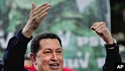 Venezuela's President Hugo Chavez (file photo)