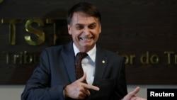 Presidente do Brasil diz não querer guerra