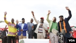 Leaders of the MDC Alliance. Picture: MDC)