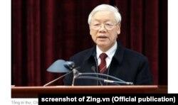 TBT TCN Nguyễn Phú Trọng: Chống tham nhũng 'khó, phức tạp' vì đụng chạm đến lợi ích con người