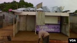 Deslojados da Ilha de Luanda no Zango 1