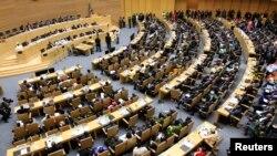 Lễ khai mạc kỳ họp thường niên lần thứ 22 của Liên Hiệp Châu Phi tại thủ đô Addis Ababa của Ethiopia, ngày 30/1/2014.