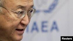 """Yukiya Amano dijo que no puede dar """"garantía confiable"""" sobre el programa nuclear iraní."""