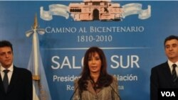 Fernández de Kirchner dio una conferencia en la Casa Rosada, en la cual analizó los resultados de las elecciones legislativas.