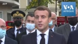 """Macron envoie un """"message d'unité'' après l'attaque meurtrière de Nice"""