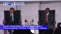 VOA60 Africa - BRICS Leaders Cite Concerns About Protectionist Policies