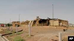 Natanz tesisindeki yangının ardından yayımlanan fotoğraf