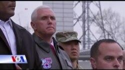 Phó Tổng thống Hoa Kỳ Mike Pence tuyên bố chống lại Bắc Triều Tiên
