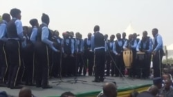 Police Band Performing At National Heroes Acre