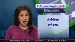 Anh ngữ đặc biệt: Syrian children not in school (VOA)
