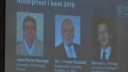 三位化學家獲得諾貝爾化學獎