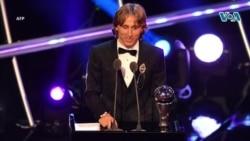 VOA Sports du 24 septembre 2018 : Luka Modric meilleur joueur FIFA 2018