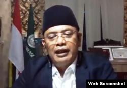 Ketua Asosiasi Petani Kelapa Sawit Indonesia (APKASINDO), Gulat Medali Emas Manurung. (Foto: screenshot)
