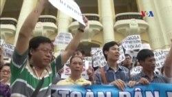 Các nhà hoạt động: Bạo lực không ngăn được biểu tình ôn hòa
