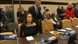 BRISEL: Angelina Jolie pozvala NATO savez da pomogne u zaustavljanju upotrebe seksualnog nasilja u ratovima