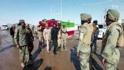 تحویل دادن جسد یک تن از قربانیان حادثۀ سقوط طیاره اوکراینی به افغانستان