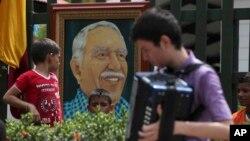 La despedida a Gabriel García Márquez es con música de vallenato, uno de las grandes pasiones del escritor.