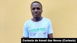 Amed das Neves, jornalista são-tomense